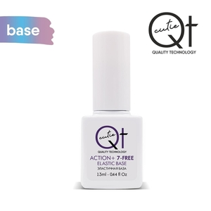 QT Эластичная база Action+ 7 Free 13 мл