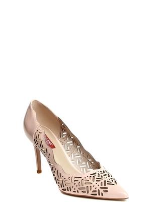 191201-3-7491 туфли  жен. летн. натуральная кожа (лак)/натуральная кожа/термоэластопласт светло-розовый Milana