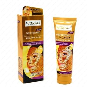 CN/ WOKALI Маска-пленка д/лица №WKL403 GOLD CAVIAR Peel off mask (Золотая икра), 130 мл