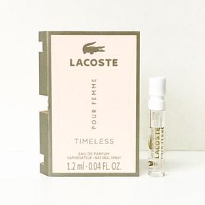 LACOSTE POUR FEMME TIMELESS lady 1.2ml edp mini