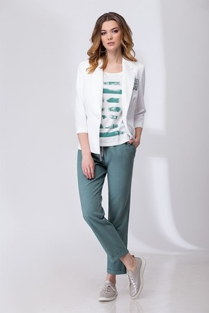 блуза, брюки, жакет Elady Артикул: 2754А Брючные костюмы