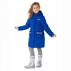 Пальто демисезонное S28163 Mazima синее