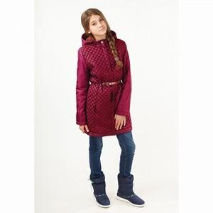 Пальто осеннее Лаура вишневое Батик