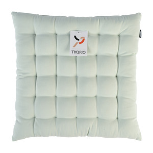 Подушка на стул мятного цвета из коллекции Wild, 40х40 см TK19-CP0001