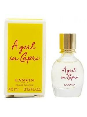 LANVIN A GIRL IN CAPRI lady 4.5ml edt mini