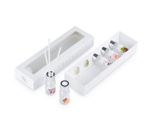 Набор ароматических настольных диффузоров BAGO HOME Ориджиналс 1 (5шт по 10 мл. ароматы цитрус, инжир, свежий хлопок, роза, сибирская сосна)