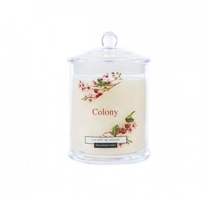 Свеча ароматическая в стеклянной банке Красная вишня 30 часов горения