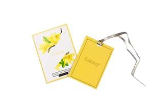 Ароматическая карточка Кашемир и ваниль