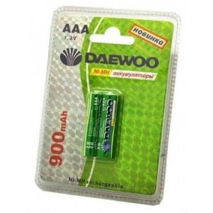 Аккумулятор Daewoo R03 900 Ni-Mh BL 2/20                  Код товара: 401371