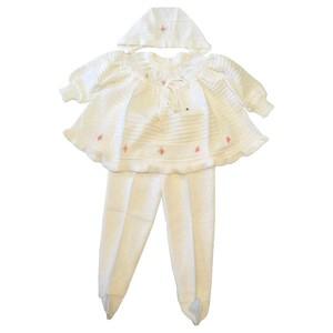 Комплект для девочки 004A/2(1)-белый
