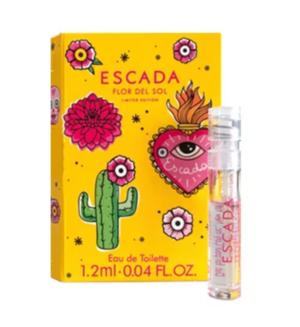 ESCADA Flor Del Sol lady vial  1.2ml edt NEW