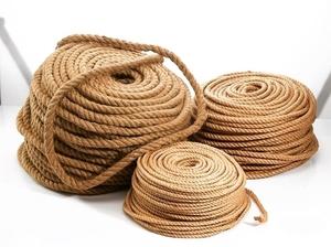 Веревка джутовая d=8мм (за 1м)