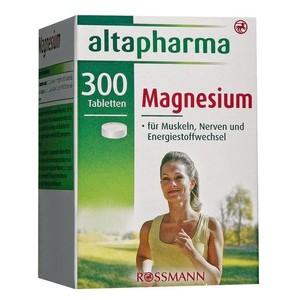 altapharma  Magnesium-Tabletten Таблетки Магний для мышц и энергетического метаболизма 192 г (арт. RS-611121)