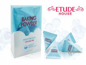 Скраб для лица Etude House Baking Powder Crunch Pore Scrub 7гр 24шт (арт. 175509)