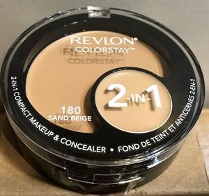 Revlon tester Colorstay 2в1 Compact Makeup & Concealer Тональная основа + консилер 2в1 №180