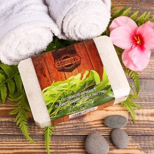 Соляной брикет с листьями эвкалипта, 1,35 кг