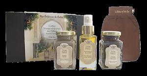 LA SULTANE VOYAGE DES DELICES lady set (100ml b/scrub + 50ml oil + 100ml shea butter)