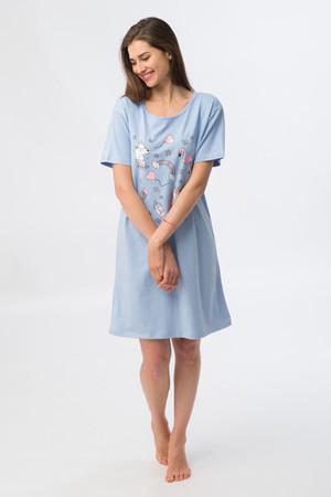 81643 Платье жен. WP 607, Состав: 95%хлопок 5%лайкра