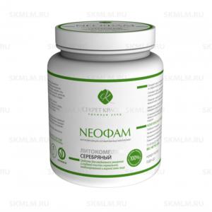 NEOФАМ Литокомплекс серебряный для глубокой очистки нормальной и жирной кожи, 500 г