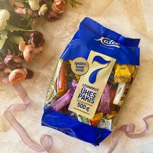 КАЛЕВ 7 ФАВОРИТОВ Ассорти смешанных конфет 500г пакет (6839) (*8)скидка 50% из-за срока годности до 30.07.20