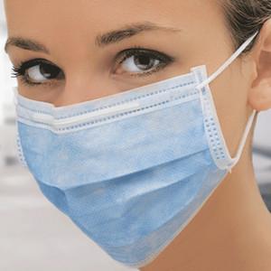 Маска медицинская Rutex  инд. уп. №50 10687 замена на маску одноразов трехслойную с нос. фиксатором