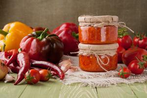 Аджика по кавказски с вялеными томатами 190 гр