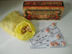 Русское лото в картонной коробке (С-197) (арт. 125663)