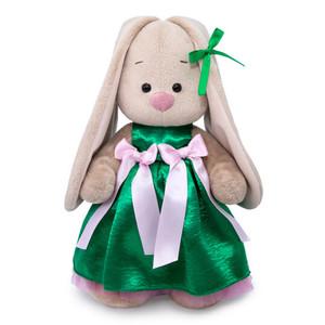 Зеленое нарядное платье для Зайки МИ 32см