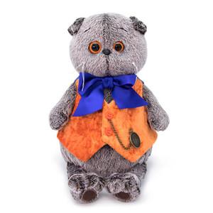 Оранжевый жилет с часами (комплект одежды для Басика,22 см)