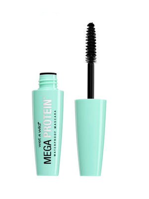 Wet n Wild Тушь для ресниц Mega Protein Waterproof Mascara №E154A very black