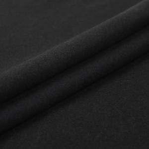 Ткань на отрез фланель 150 см цвет черный