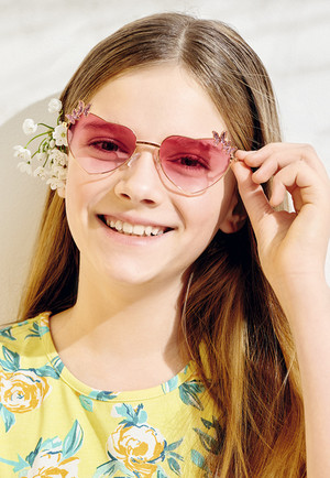 Детские солнцезащитные очки «Бабочка»