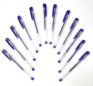 Ручка гелевая синяя 1 шт. (арт. 0611)