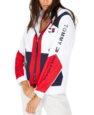 Tommy Hilfiger Colorblocked Zip-Up Active Jacket