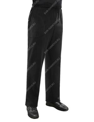 Брюки мужские BVR-SPORT тк.Флис цв.Черный