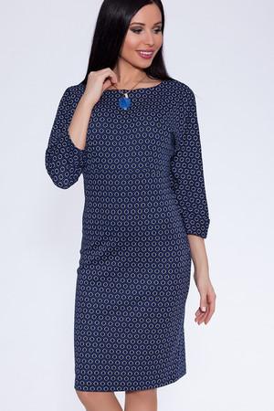 Платье (Цвет: набивной трикотаж) 625-567