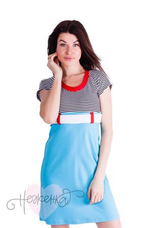 Платье П 40 (голубой)