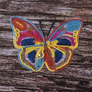 Термоаппликация ТАП 047 бабочка 15*11см