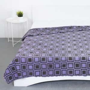 Одеяло полушерсть 500 гр/м2 цвет сиреневый 190/200 см