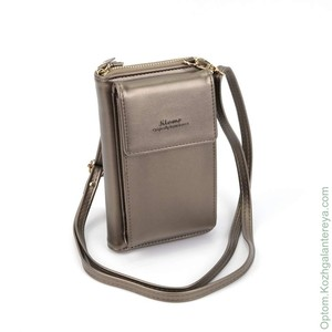 Женская сумка-кошелек 55286 Бронза