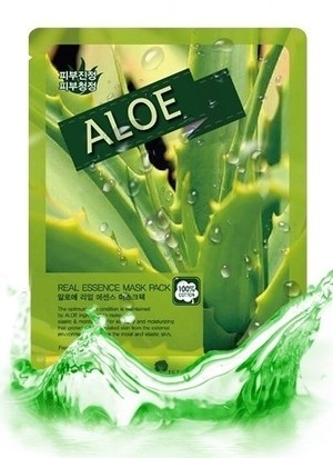 KR/ MAY ISLAND Real Essence Mask Pack Aloe Маска-салфетка для лица Алоэ, 25мл