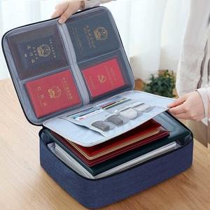 Соберите документы в одном месте!Портативная сумка - портфель для различных документов, бумаг и гаджетов (арт. OB-306-Blue)