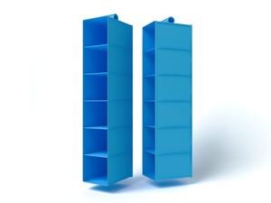 Подвесной кофр (органайзер) открытый для обуви и бытовых мелочей 120х22х30см. 6020/0