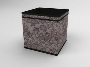 Коробка - куб (жёсткий) 27х27х27см 239