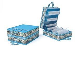 Чемоданчик для хранения обуви на 6 пар, 35х40х20см 6013