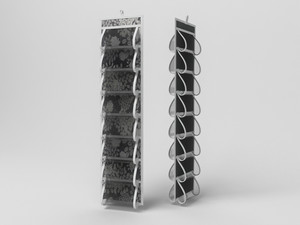 Кофр для колготок и мелочей, двусторонний, 16 карманов, 20х80см 810