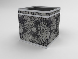 Коробка - куб (жёсткий) 22х22х22см 840