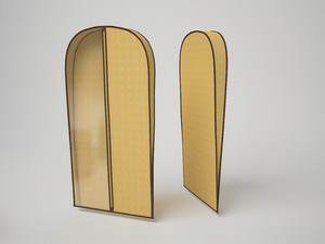 Чехол для хранения шубы 60х160х10 см. 1429
