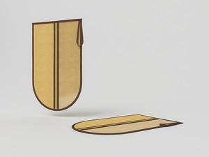 Сумочка-чехол для одной пары обуви, 45х30см 1415