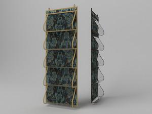 Кофр для одежды, 5 карманов,105х40см 1307
